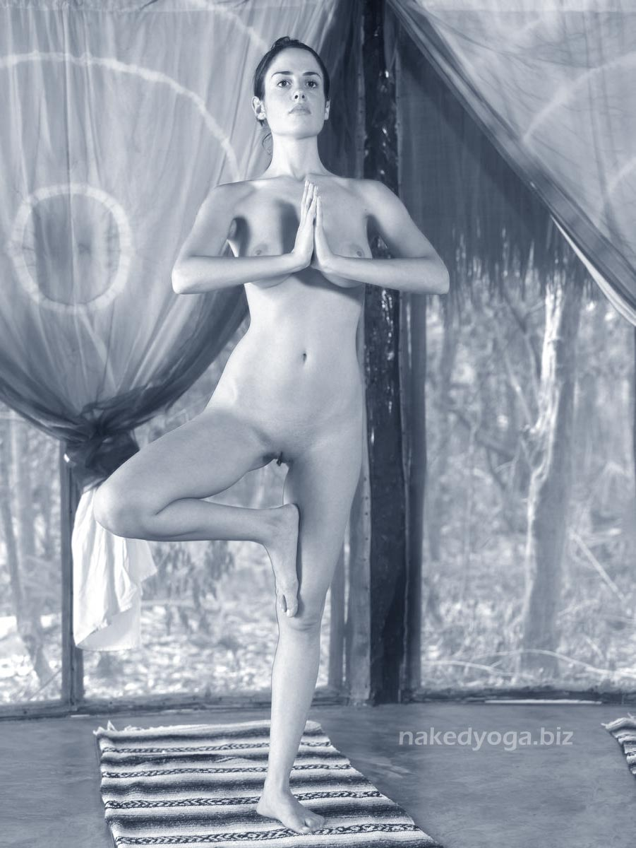 naked yoga photo